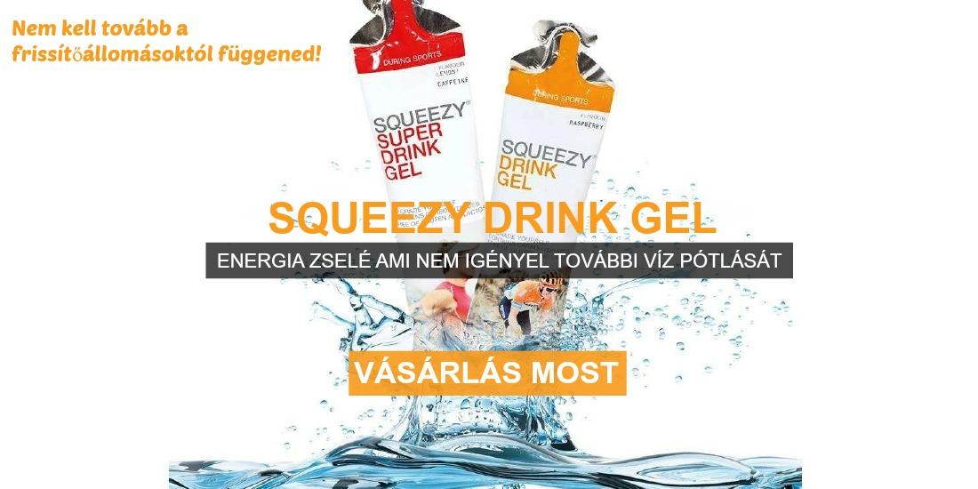 drink gel energia zselé futáshoz flexi