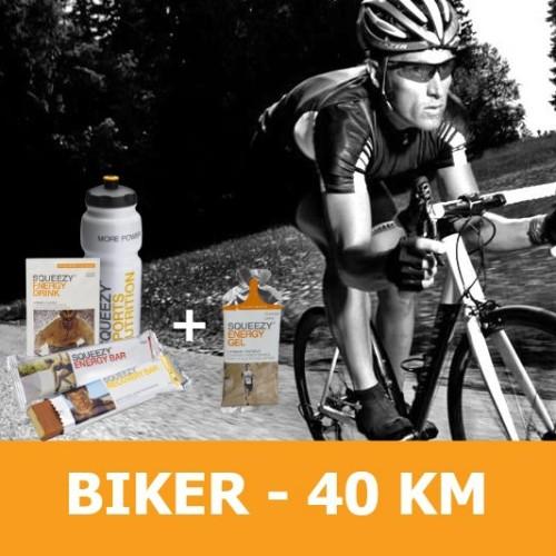 biker 40 KM squeezy csomag -