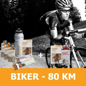biker 80 KM squeezy csomag -