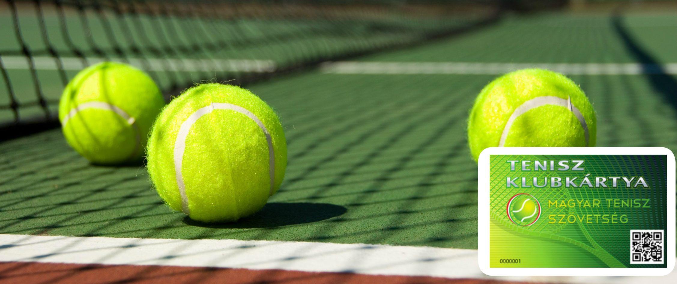 tenisz klubkártya