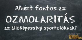 Miért fontos az ozmolaritás az állóképességi sportolóknak