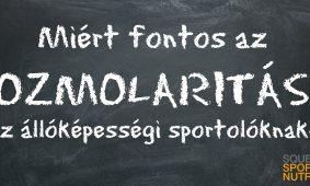 ozmolaritás