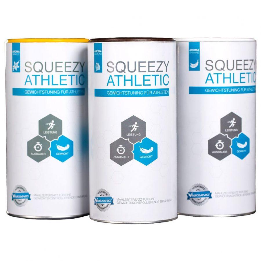 squeezy athletic étkezés helyettesítő sportolóknak